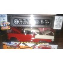 Chevy Bel Air Rojo Con Refacciones