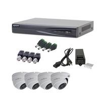 Kit Epcom Turbohd(tvi)1080p Turboe84, 4 Domos Antivandalicos