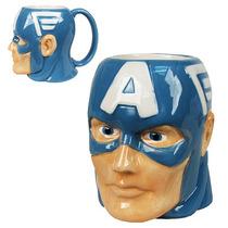 Taza De Capitán América Marvel 4dageek