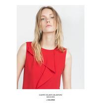 Blusa Roja Zara Nuevo Remate