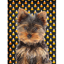 Halloween De Las Pastillas De Yorkie / Yorkshire Terrier Ban