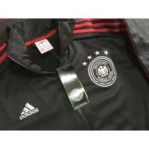 Chamarra Selección Alemania Negra Talla M Adidas