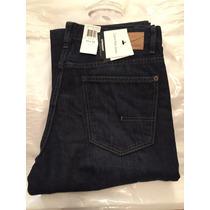 Pantalones Mezclilla Jeans Calvin Klein 33x32 Corte Recto
