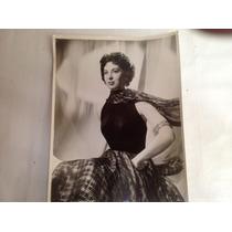 Fotos Artistas Holywood Rita Gam Metro G. Mayer $60.00