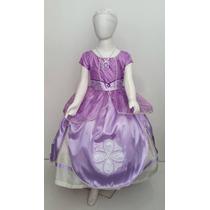 Sofia Vestido Disfraz Tipo Princesa Sofia Elsa Envio Gratis