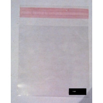 1000 Bolsas Polipropileno (celofán) 7x10 Con Adhesivo
