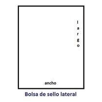 1000 Bolsas De Polipropileno (celofán) 25 Mcs 6x12