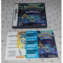 Pokemon Mistery Dungeon Nintendo Ds Solo Caja Y Manual