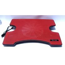 La Mas Barata Base Enfriadora Vorago Laptop Cp-102 Rojo
