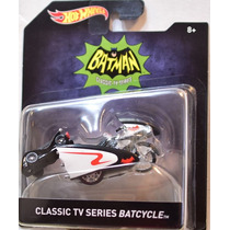 Batcycle Batman Classic Tv Series Esc 1:50 Hot Wheels 2016