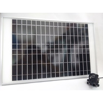 Paquete Bomba Agua 640lph 5mts + Panel Solar Energia Gratis!