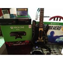 Xboxone + Guitar Hero Live Con Guitarra + Juegos Digitales.