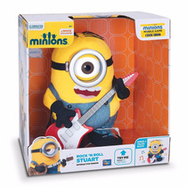 Minion Stuart Rock Toca Guitarra Interactivo 2015 Remate