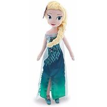 Muñeca De Tela/peluche Elsa Frozen Fever 48 Cm Disney Store