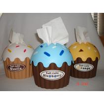 Geniales Klineras Kawaii,forma Cup Cake Varios Colores
