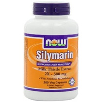 Now Foods Silimarina / Milk Thistle Extract 2x - 300mg 200 V