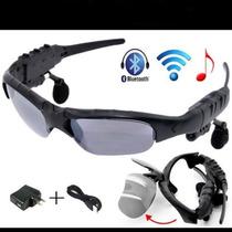 Lentes De Sol Con Bluetooth Reproductor De Mp3 Manos Libres