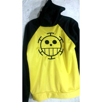 Chamarra Sudadera One Piece Trafalgar Law Cosplay Anime