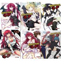 Paquete 6 Mangas Highschool Dxd Panini Español