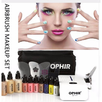 Set Completo Maquillaje Profesional Con Aerografo Con Regalo
