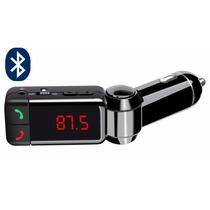 Transmisor Fm Bluetooth Manos Libres