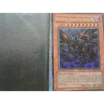 Carta Yu Gi Ho Red-eyes Darkness Dragon