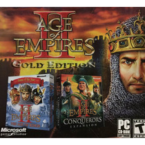 Age Of Empires Ii Gold Edition Pc Cd-rom Ingles Nuevo Sellad