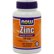 Ahora Alimentos Gluconato De Zinc 50mg Tablets, 250-conde