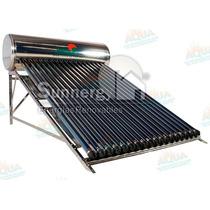 Calentador Solar 188 Litros. Acero Inoxidable. 16 Tubos
