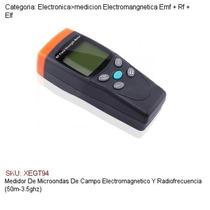 Medidor De Microondas/campos Electromagnetico/rf 50m-3.5ghz