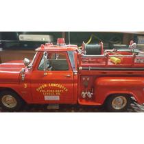 1965 Chevrolet C-20 Fire Truck 1/18 Sunstar
