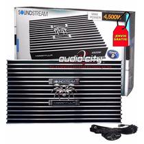 Amplificador Monoblock Clase D Soundstream Black1.4500 4500w