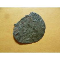 Antigua Moneda Rey Enrique I I I Blanca D Vellon 1390-1406