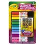 Crayola Chica Aerógrafo Marker Y Stencil Paquete
