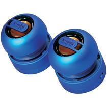 Set De 2 Mini Bocinas Portátil Estereo X-mini Max 2 Blue