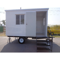 Remolque Tipo Oficina Movil 4 Mts, Camper,cabina,obra,