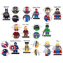 Marvel Dc 8 Fig Compatibles Lego Coleccion Super Heroes