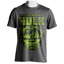 Playera The Incredible Hulk Marvel Avengers Wolverine