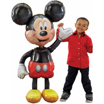 Globo Metalico Mickey Mouse Minnie Mouse Gigante Airwalker