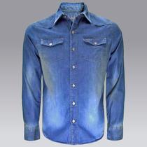 Camisa Mezclilla Vaquera Eco Cm110c129