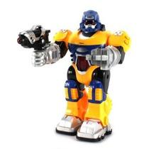 Poder Guerrero Android Robot De Juguete Figura W / Luces Son