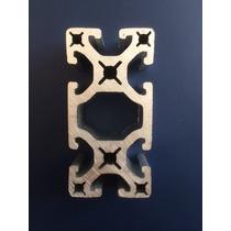 Perfil De Aluminio Estructural 40x80mm