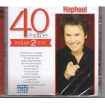 Raphael 40 Exitos / 2 Cds
