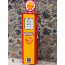 Reproduccion De Bomba Gasolina Antigua