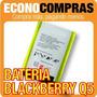 Batería Para Blackberry Q5 Original 100% Nueva!!!!!!!!!!!!!!
