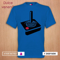 Atari Retro Playera - Tshirt