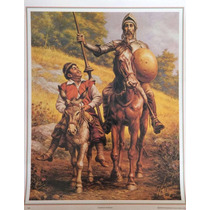 Caballeros Andantes Poster Tradicion Mexicano Jesus Helguera