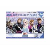 Frozen Y Sus Amigos Rompecabezas 200 Piezas Panorámico