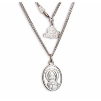 Medalla Sagrado Corazón, Virgencita Caricatura Hm4
