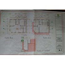 Plano Arquitectonico Casa 2 Pisos